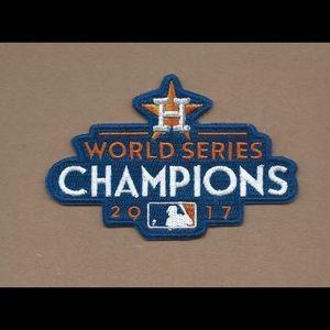 """4"""" HOUSTON ASTROS World Series Champions Logo Iron"""